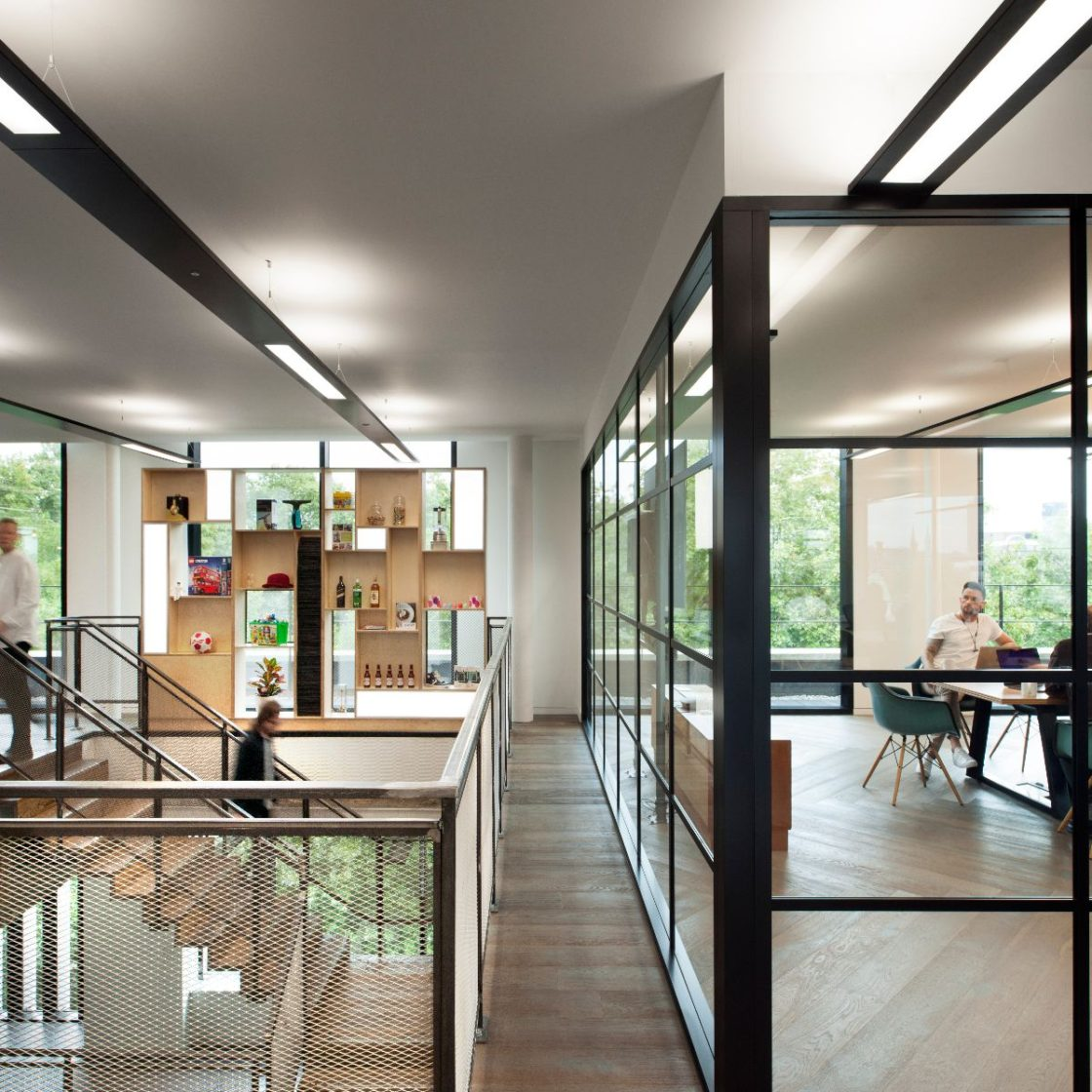 Crittall glazing | meeting rooms | acoustics