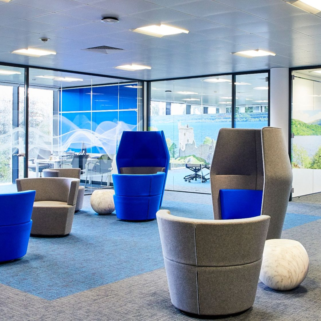 Glass office partitioning | office fitout | glass | acoustics