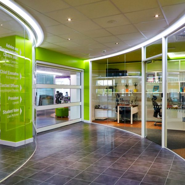 Glass   office   meeting rooms   Single glazing   Double Glazing   Curved glass