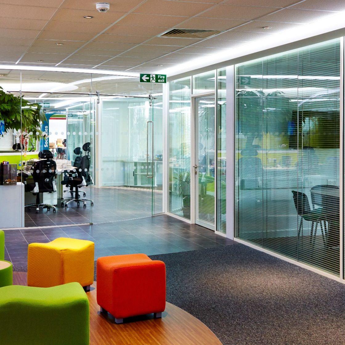 Glass   Office meeting rooms   Single Glazing   Double Glazing   Doors   Acoustics