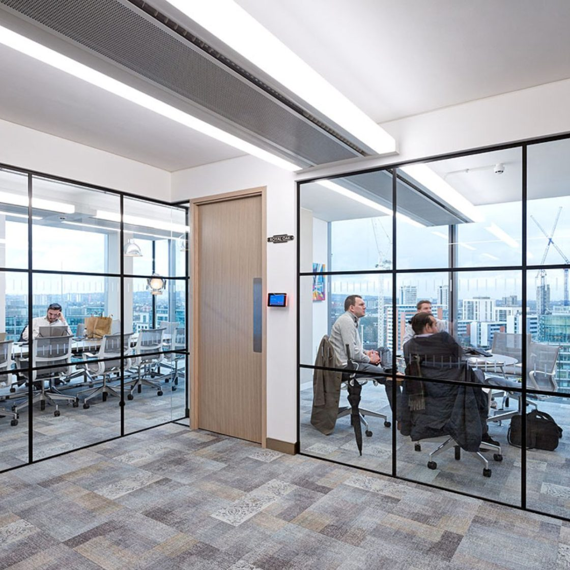 Crittall Style Glazing | Office | Glass partitioning |