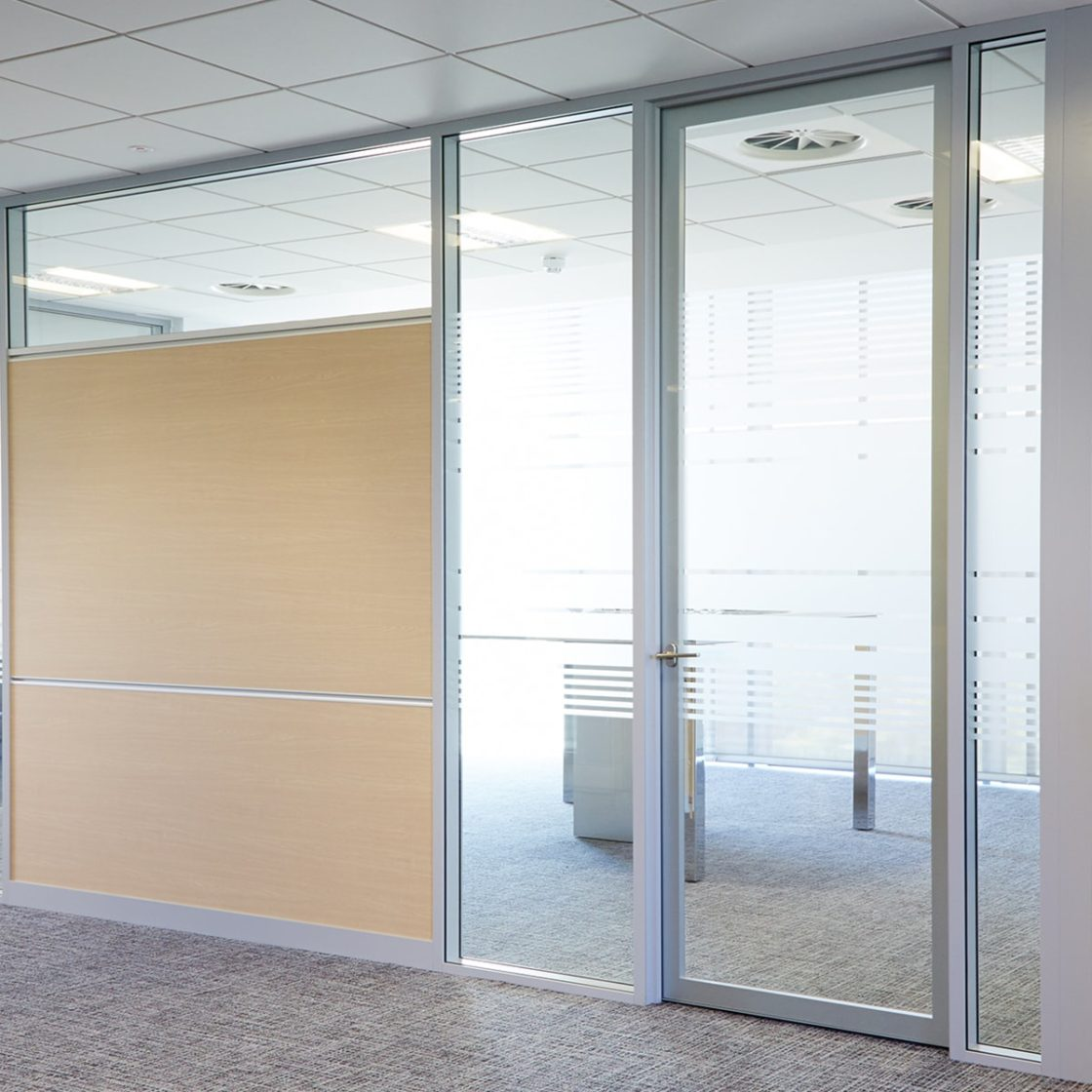 Workwall   Double glazing   dry-wipe surfaces  