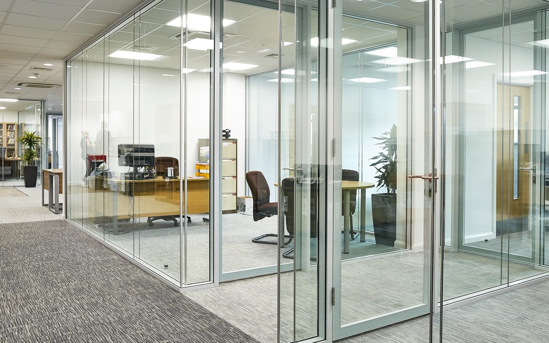 Glass Office Partitions   3 Considerations | I Wall