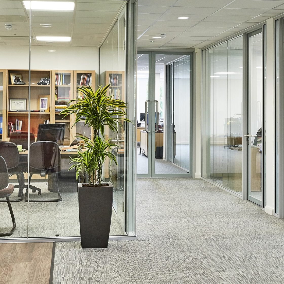 Glass | Partitions | Frameless | fitout | Meeting Rooms