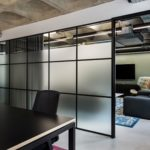 glazing | Transom | Crittall Style | office | meeting rooms | London