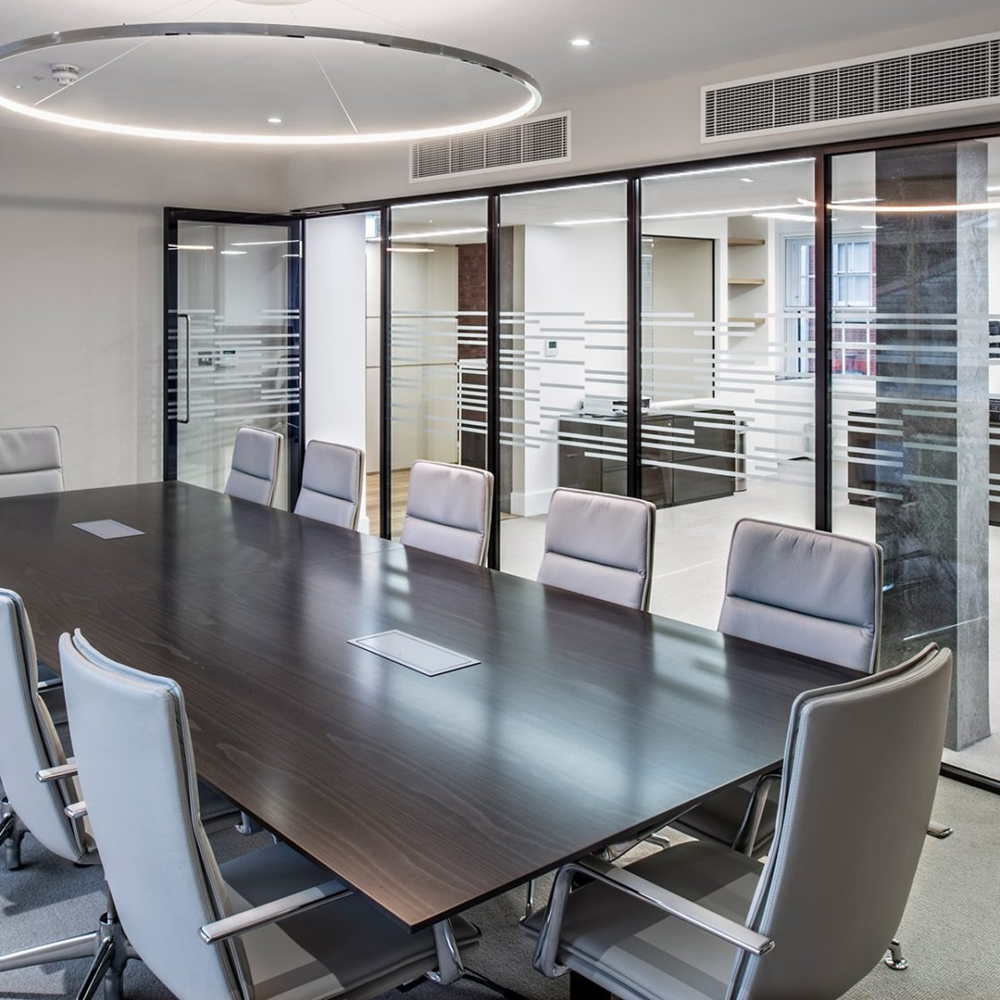 Board Room | Office glazing | Single Glazed | Relocatable | Demountable