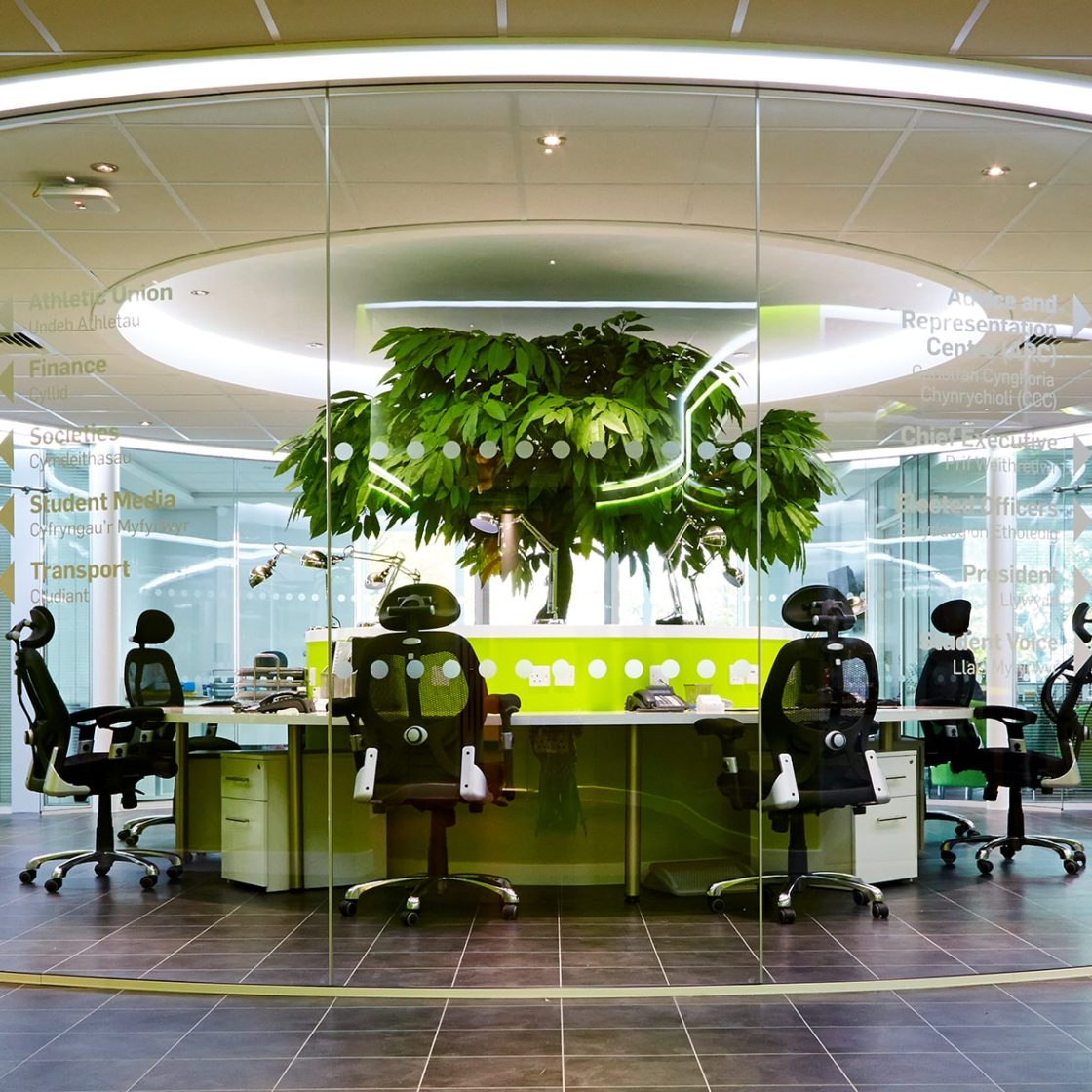Glass   Curved glass   Partitioning   Office fitout