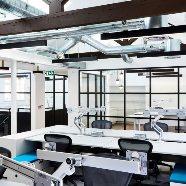 Crittall style glazing | Industrial office fitout | i Wall 60 | Business | Industrial | Partitioning systems | Superior Acoustics | Commercial