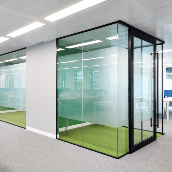 Glass Meeting rooms | Office relocation | Glass Partitioning
