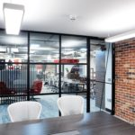 Industrial style glazing | Showroom | Crittall Style glazing
