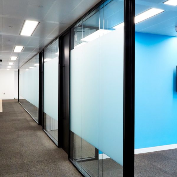 Office partitioning | Single Glazed | Office glazed partitioning